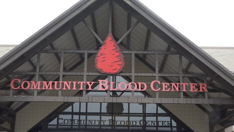 Community Blood Center of the Ozarks encourages new donors.
