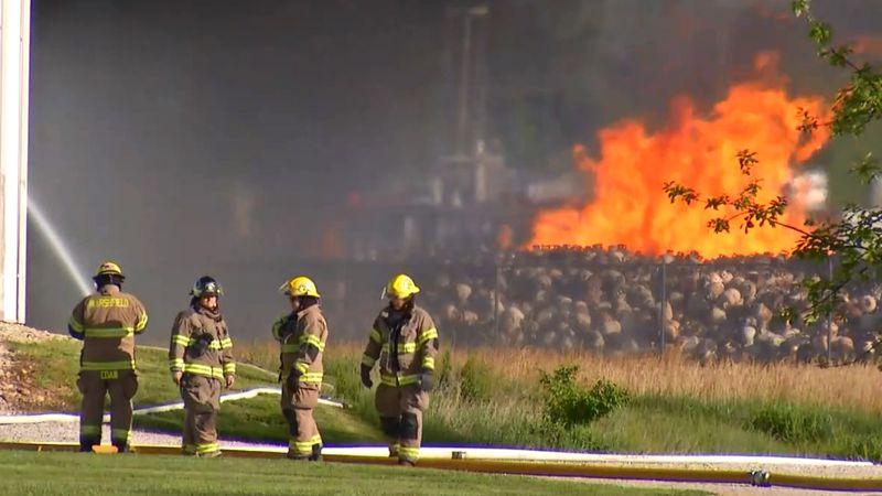 Marshfield fire.