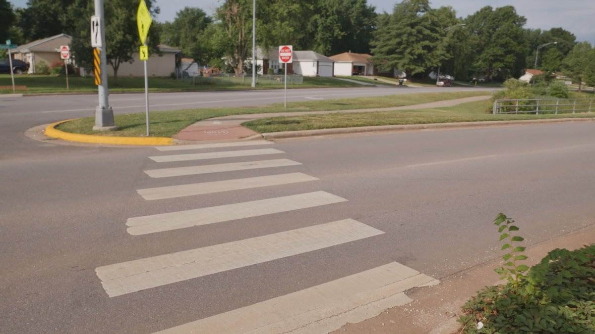 More Springfield drivers are yielding to pedestrians at crosswalks. That's according to the...