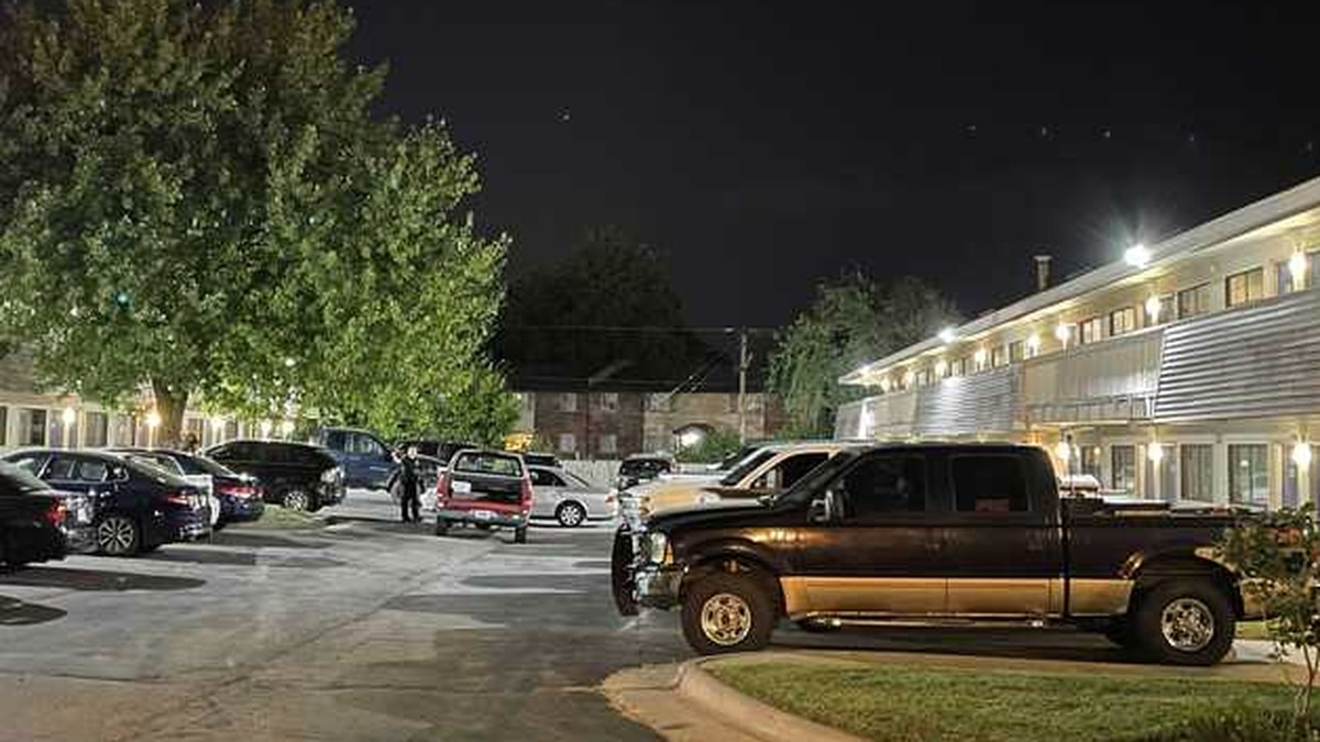 Officers responded to Motel 6 near I-44 and Glenstone Tuesday evening.