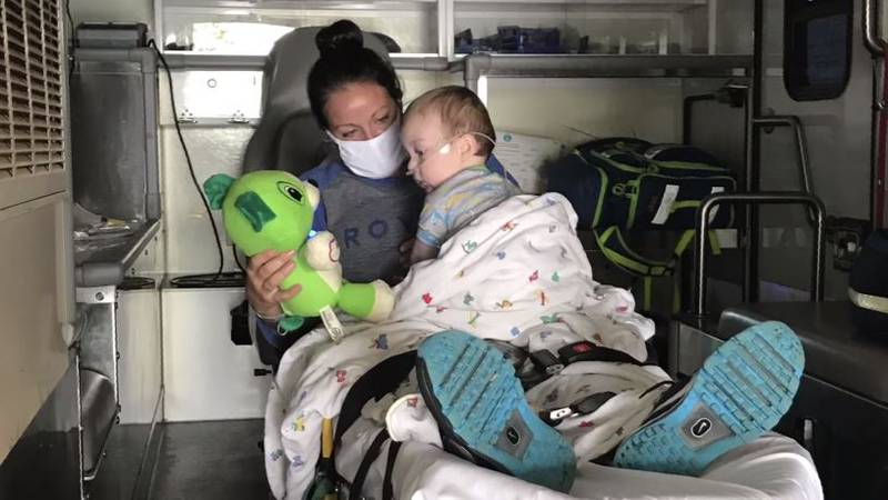 Baby hospitalized for COVID-19