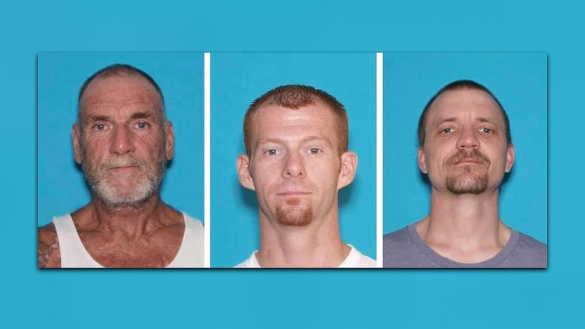 Police are searching for three escaped inmates from the Iron County Jail.