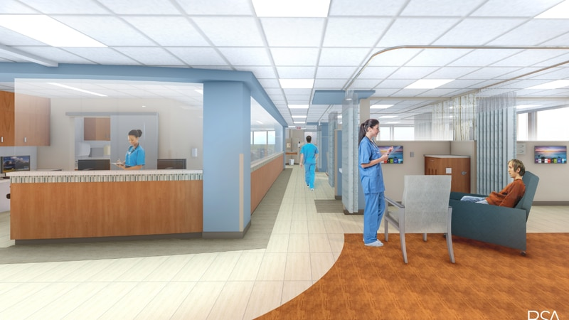 It will increase capacity from 28 to 40 treatment stations.