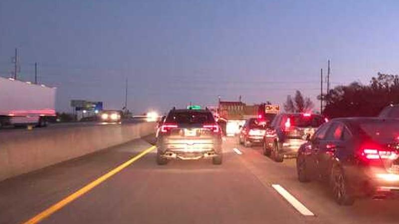 The crash happened around 7 a.m. near U.S. 65 and Kearney.