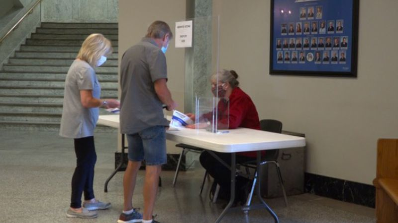 The last day to request a mail-in or absentee ballot is October 21.