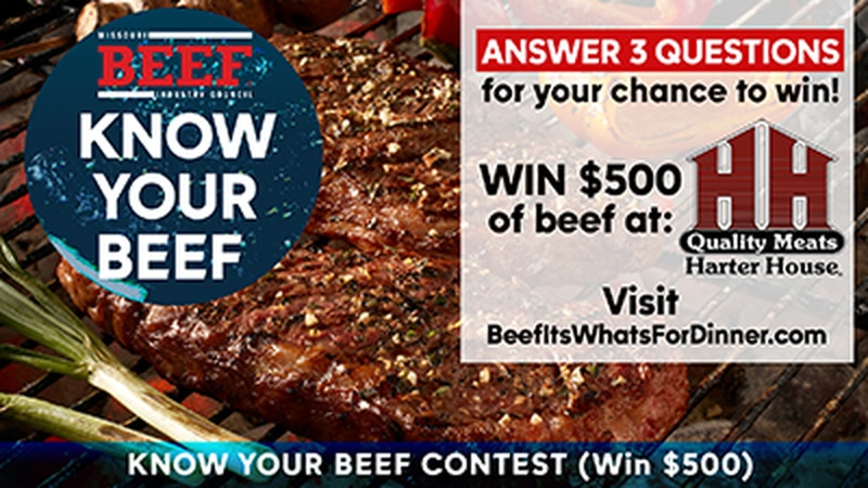 May is 'Beef Month' and the Missouri Beef Industry Council is celebrating by giving you a...