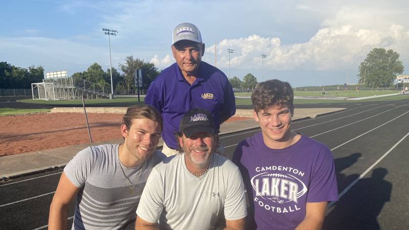 """The last name """"Shore"""" carries a lot of weight in Camdenton, especially when it comes to football."""