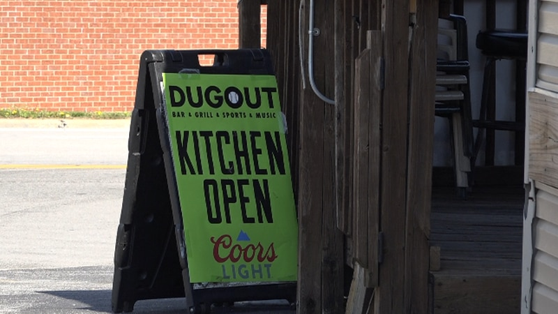 Dugout bar and grill in Springfield.