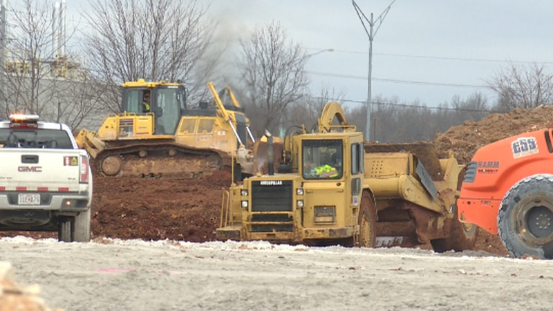 The initial work is underway in east Springfield on the city's first Costco. The second-leading...
