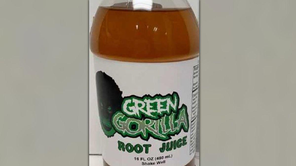 Green Gorilla Root Juice.