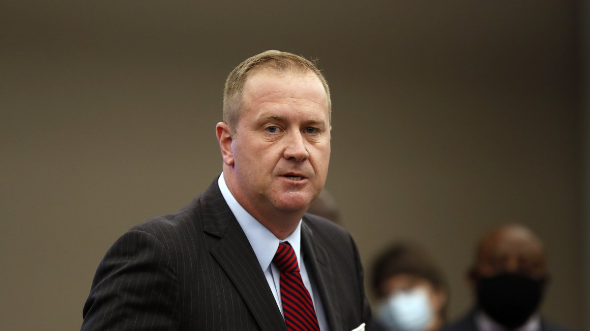 FILE - In this Aug. 6, 2020 file photo, Missouri Attorney General Eric Schmitt speaks during a...