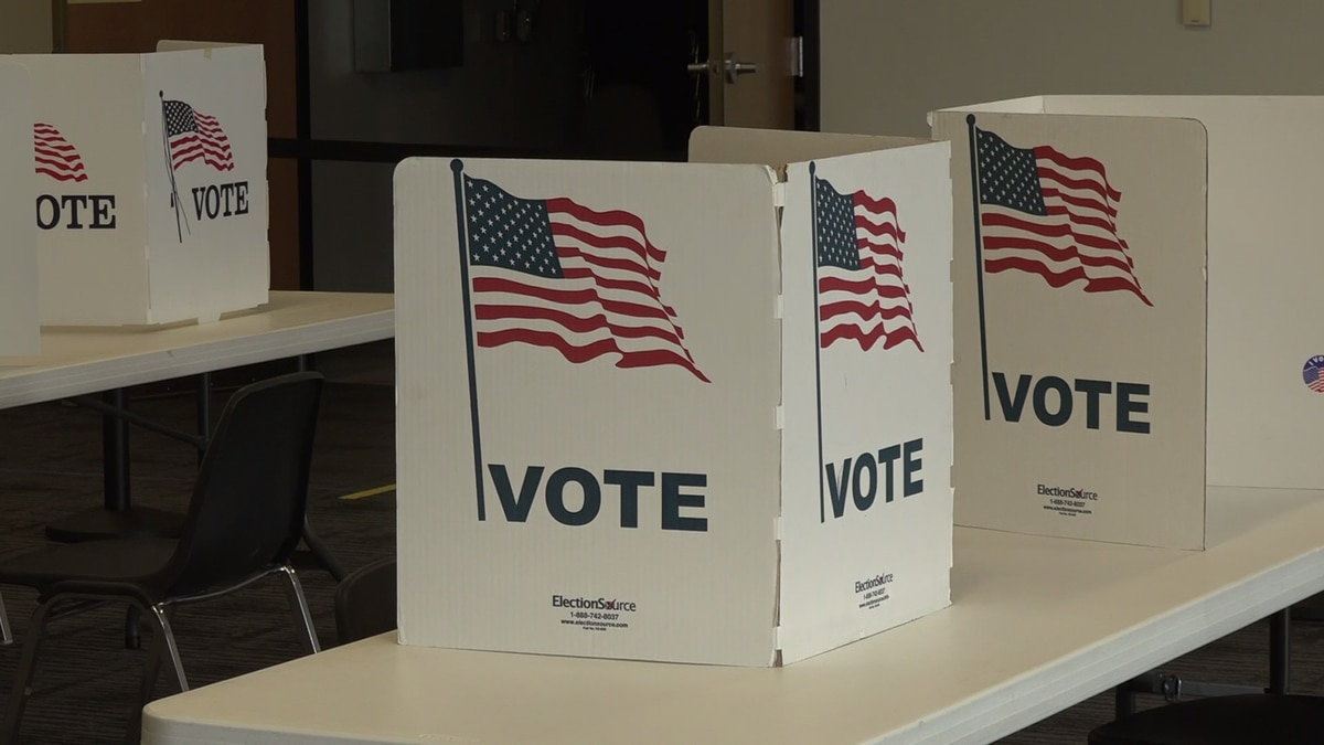 Voters turned out Saturday to cast their absentee ballots for Tuesday's election.