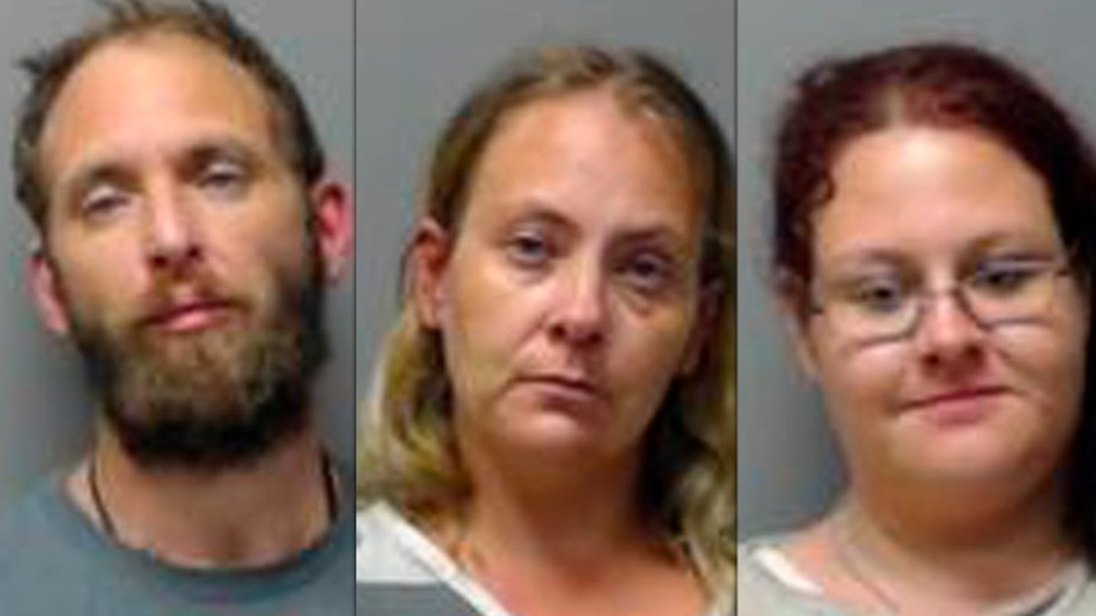 Michael P. Howard, 40; Christina M. Walters, 39; and Stacy L. Smith, 33, are being held at the...