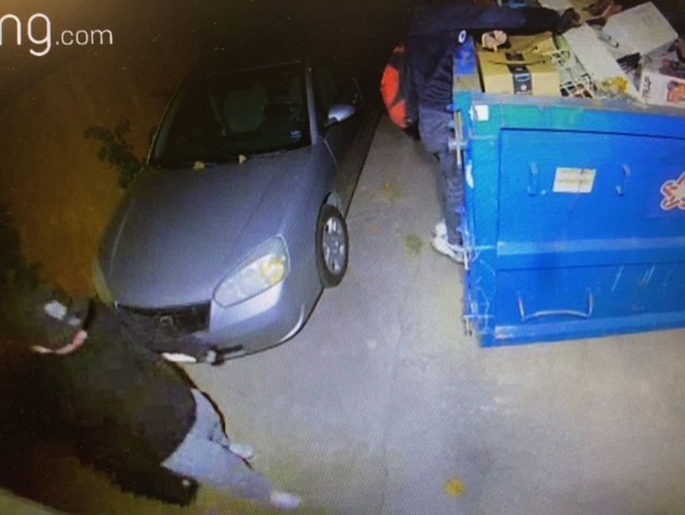 Investigators say the men also stole more than $2,000 worth of equipment and tools.