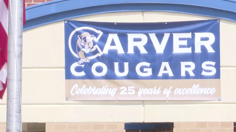 Carver Middle School adds extra safety measures after a anonymous threat was called in this...