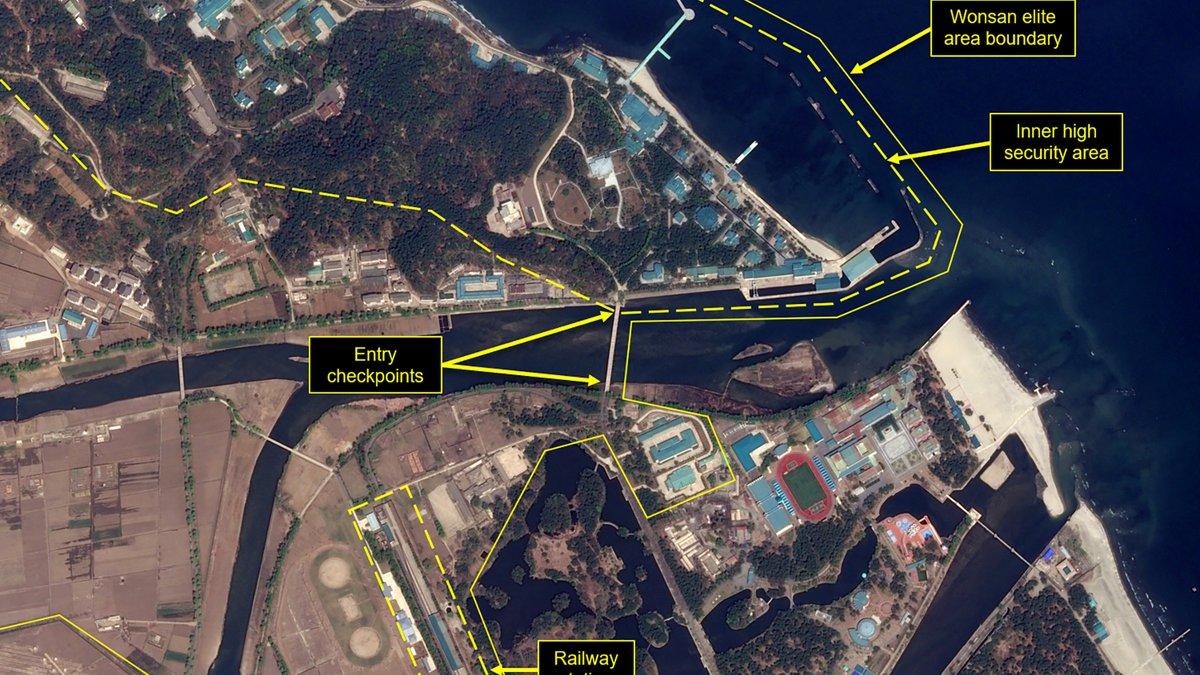 This Wednesday, April 15, 2020, satellite image provided by Airbus Defence & Space and...