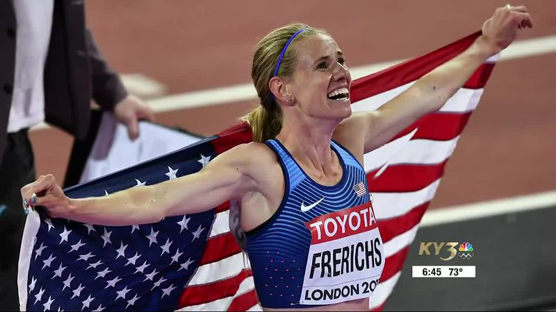 Frerichs overjoyed after finishing second at the World Championships at London in 2017.