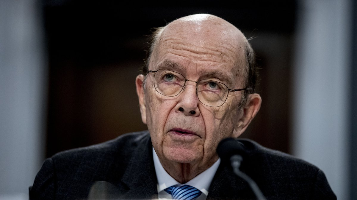 FILE - In this March 10, 2020 file photo, Commerce Secretary Wilbur Ross testifies before a...