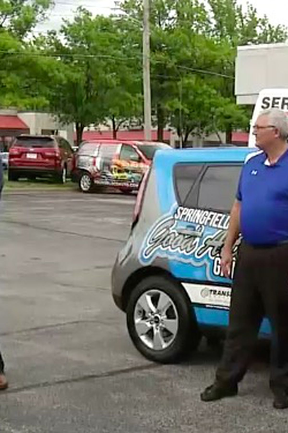 springfield hillcrest high grad wins new kia from youngblood springfield hillcrest high grad wins