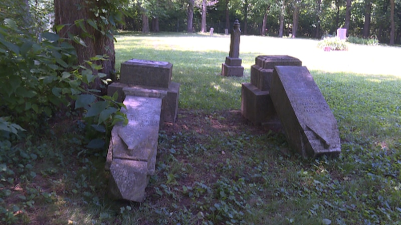 A small country cemetery with ties to the Civil War is hit by vandals who knocked over...