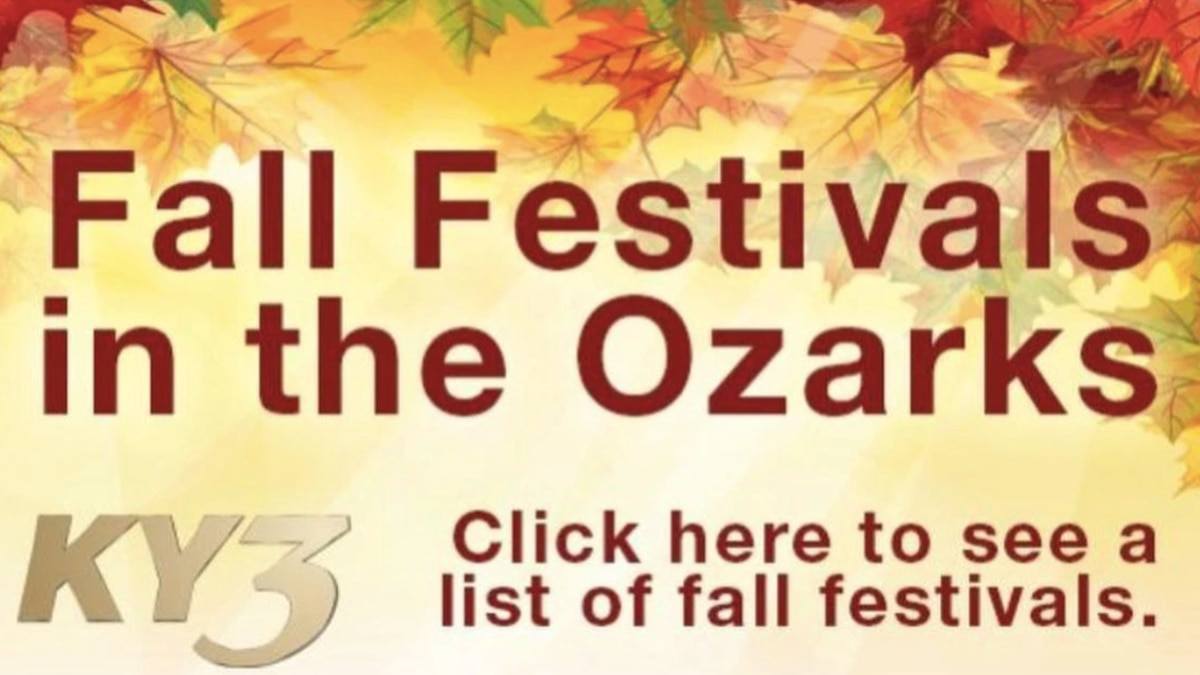 Fall festivals in the Ozarks/KY3
