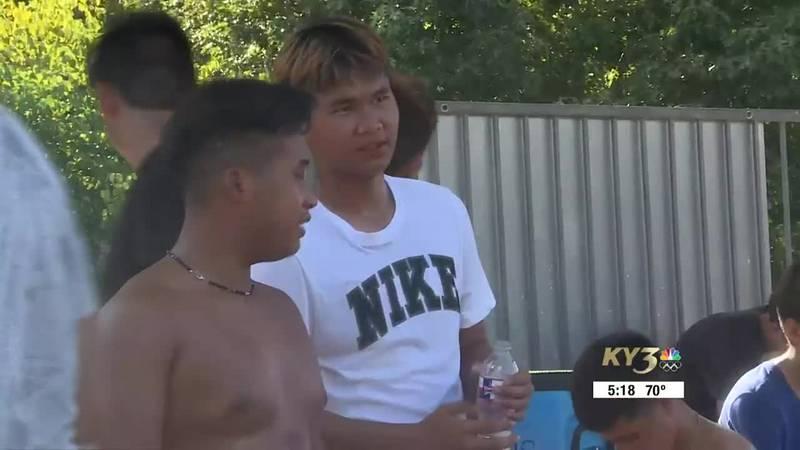 Mu Ku and Moo Say are cherishing their time with the Monett High School soccer team.