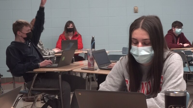 All Springfield high school students are returning to class for a four day in-person school week.