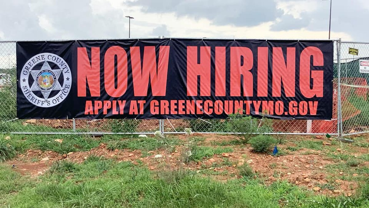 The Greene County Sheriff's Office is hiring several positions just a year before moving into...