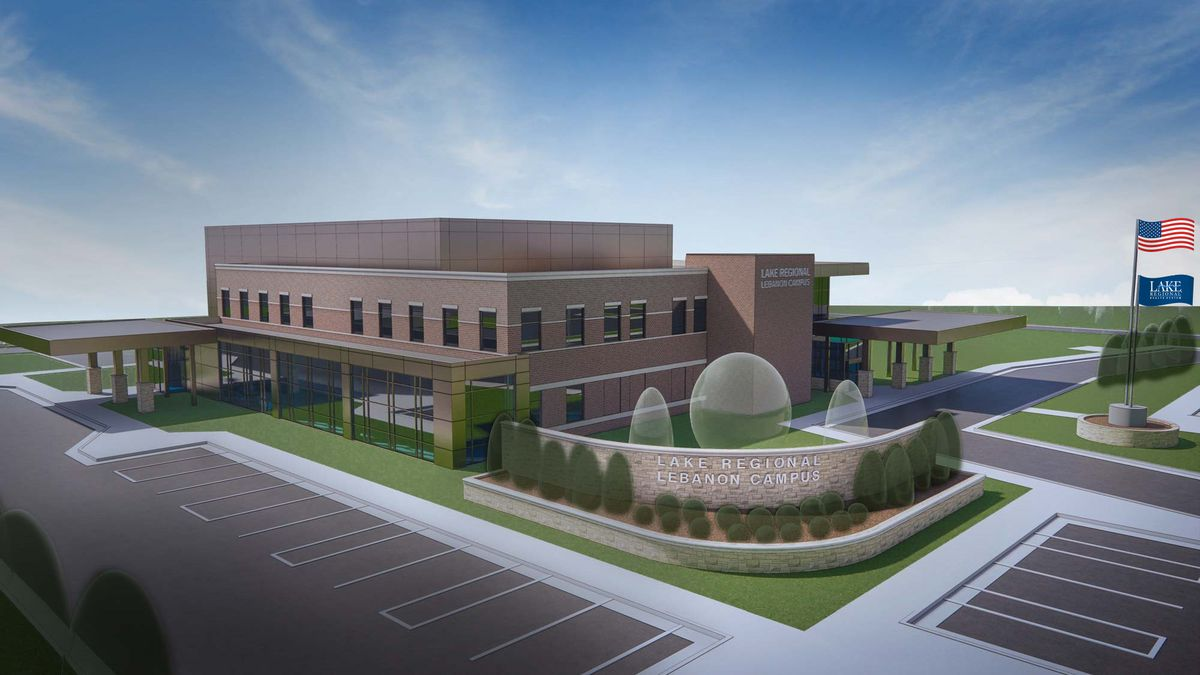 Lake Regional Health System recently announced plans to open a new Lebanon campus in 2022.