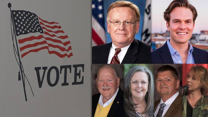 Mayoral candidates: Ken McClure, Marcus Aton (Springfield); Edd Akers, Karen Best, Larry...