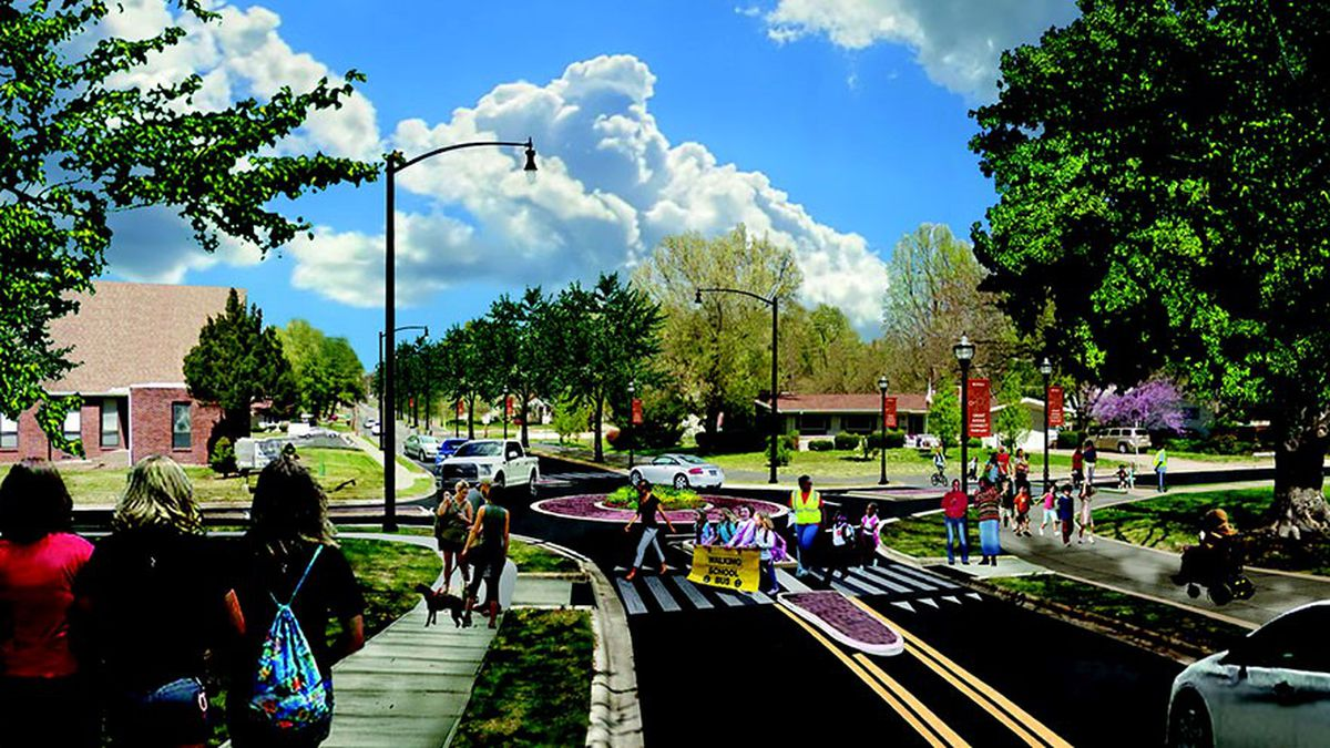 The Grant Avenue Parkway Project is expected to be completed by September 2026.