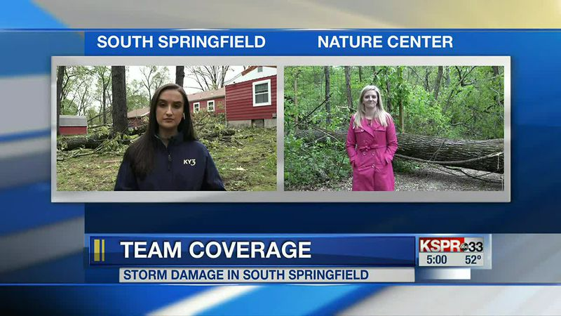 Team coverage of storms.