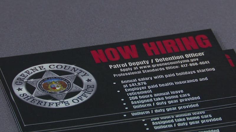 Greene County Sheriff's office holds job fair