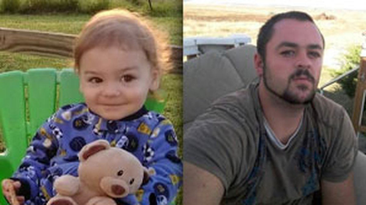 Authorities say Dalton Freeze and his 3-year-old son left their home in Liberal, Missouri...