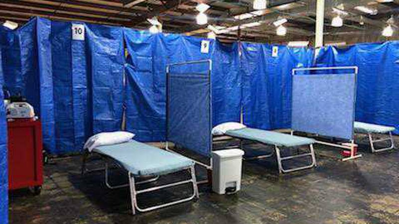Jordan Valley Community Health Center and the MO disaster medical assistance team opened this...