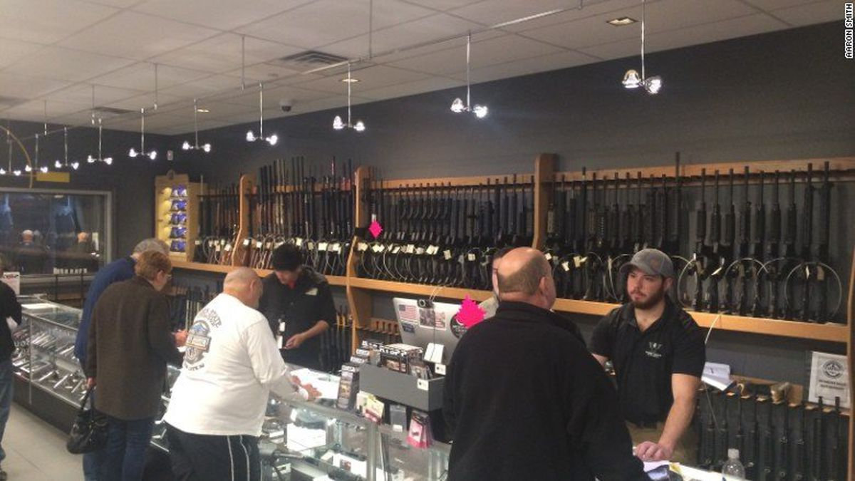 Gun Store In Virginia Says Firearms, Ammo, And Other