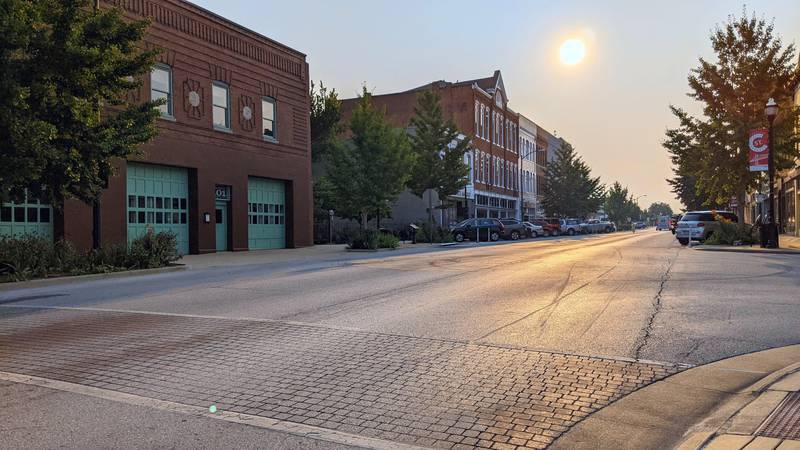 C-Street stakeholders and community members want refurbished public parking lots, directional...