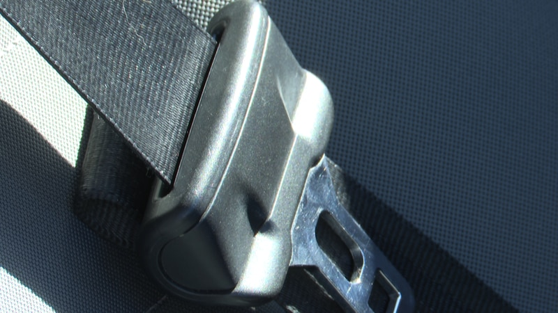 A recent study found an increase in seat belt usage in both Arkansas and Missouri.