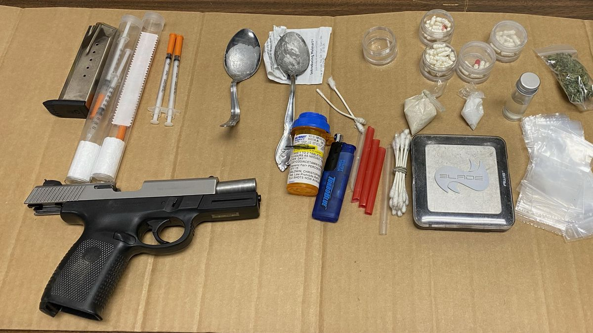 Texas County deputies recovered drug paraphernalia and substances believed to be fentanyl and...