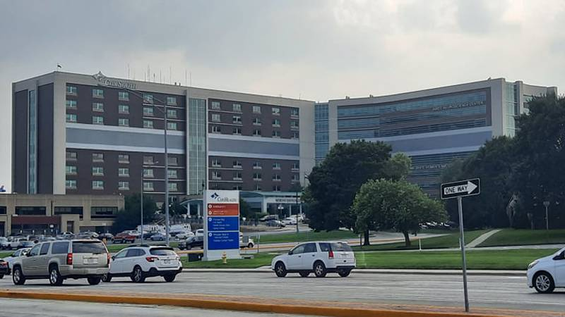 Cox health CEO Steve Edwards tweeted that 187 Covid positive patients were hospitalized for...