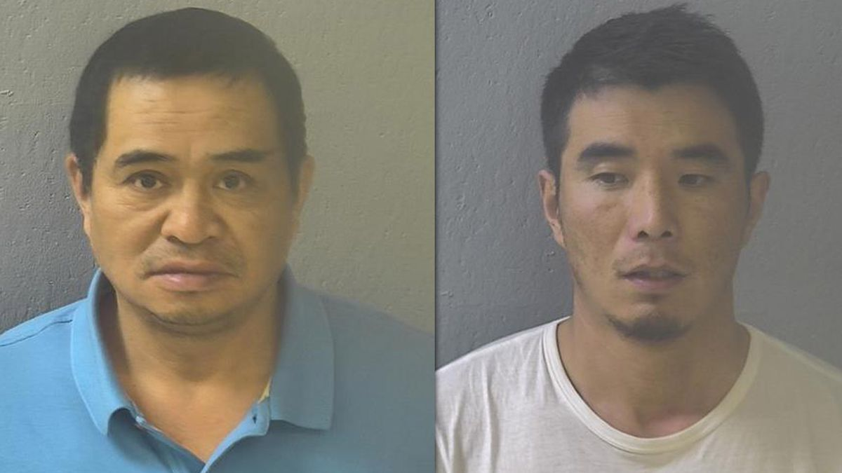 Two California men accused of drug trafficking are behind bars in Greene County.