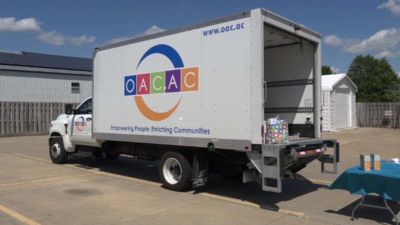 OACAC offers new mobile mercantile service to provide products to people in 10 counties it...
