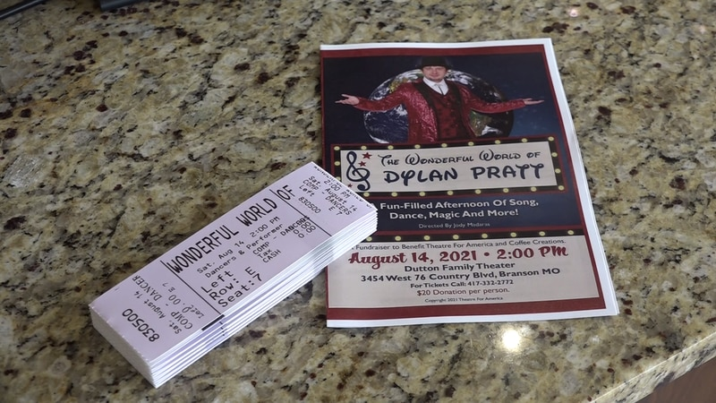 A Branson theater is helping one young man's dreams come true while also giving back to the...
