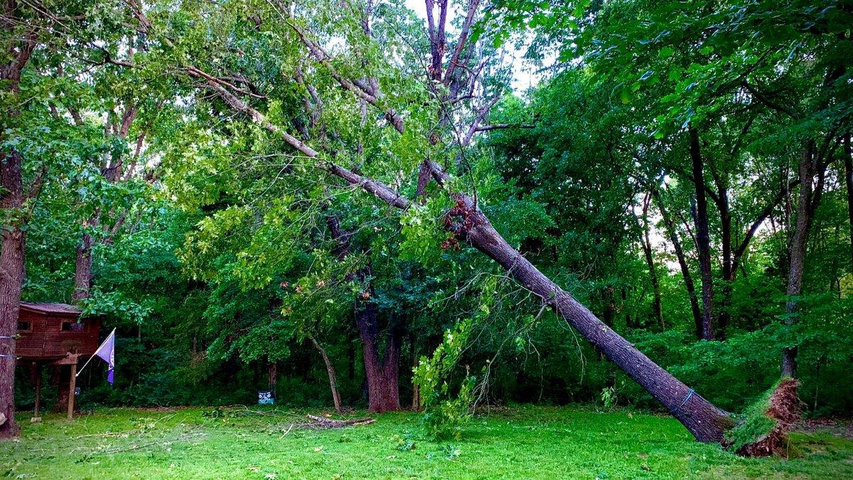 Severe weather struck Nixa and other southwest Missouri communities Friday night.