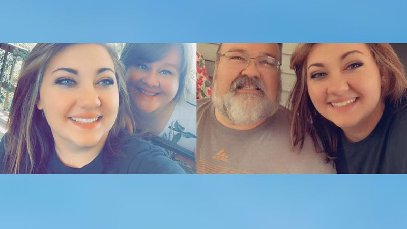Trista Lumb's parents are both hospitalized with COVID-19 at Mercy Hospital in Springfield.