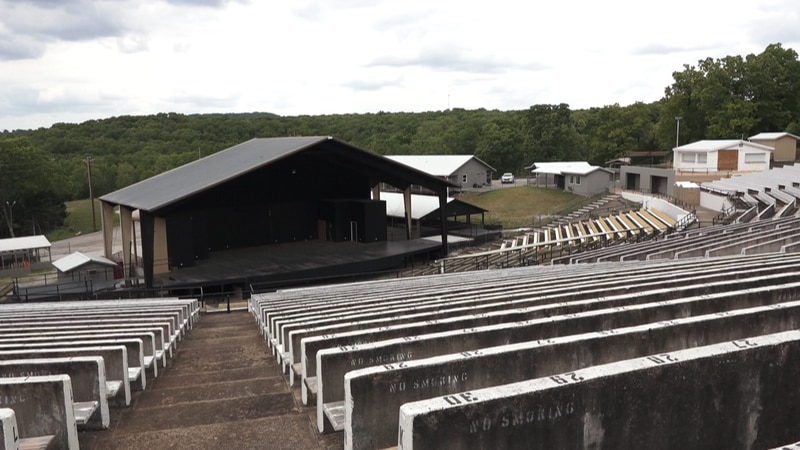 Black Oak Ampitheatre in Lampe, Mo. makes a comeback after an eight year shutdown