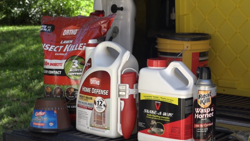 Tools to help get rid of summer pest
