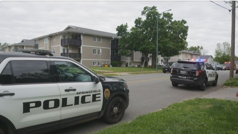 Police say a young woman is hospitalized after a shooting in Springfield Wednesday morning.