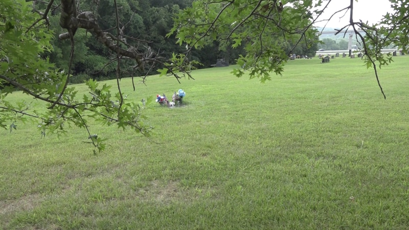Officer Walsh grave-site.