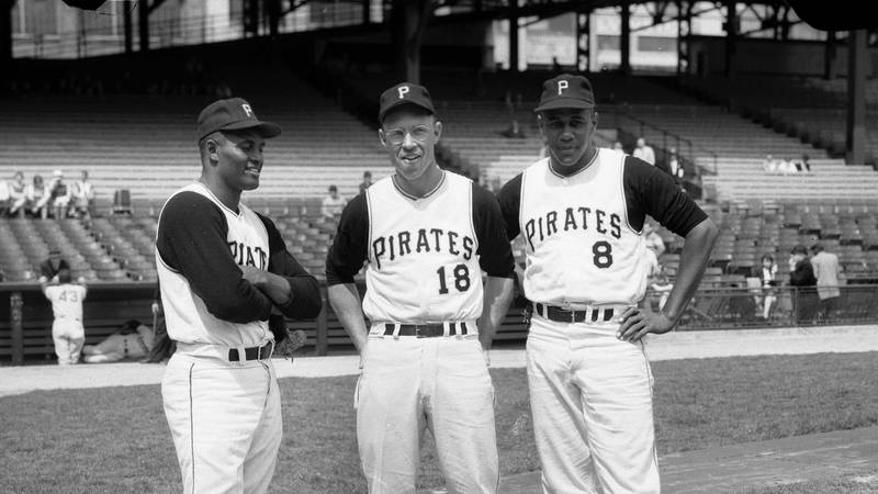 Baseball legend Bill Virdon played for the Pittsburgh Pirates for a total of eleven years